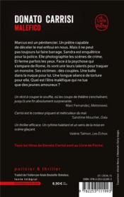 Malefico - 4ème de couverture - Format classique