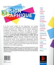 Les fondamentaux du design graphique - 4ème de couverture - Format classique