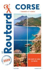 Guide du Routard ; Corse ; + randonnées et plongées (édition 2020) - Couverture - Format classique