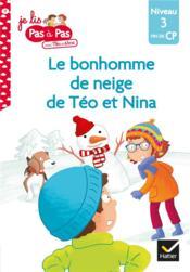 Le bonhomme de neige de Téo et Nina - Couverture - Format classique
