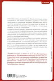Retrouver la République : face à la crise des consentements - 4ème de couverture - Format classique