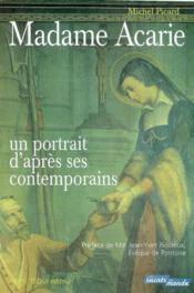 Madame acarie - un portrait par ses contemporains - Couverture - Format classique