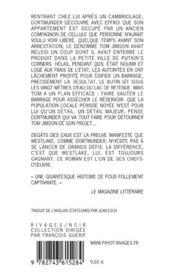 Degats des eaux-1ere ed - 4ème de couverture - Format classique