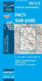 Pacy-sur-Eure - Couverture - Format classique