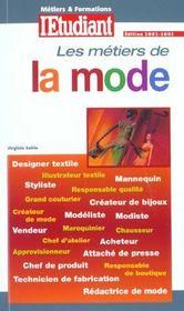 Les Metiers De La Mode - Intérieur - Format classique