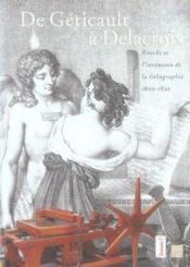 De gericault a delacroix - Couverture - Format classique