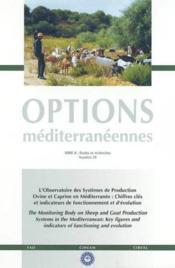 L'observatoire des systemes de production ovine et caprine en mediterranee chiffres cles options med - Couverture - Format classique