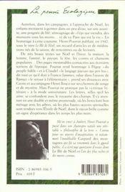 Le ble de noel - 4ème de couverture - Format classique