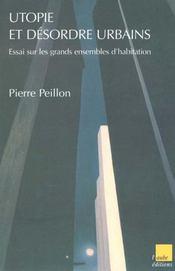 Aux Sources De La Crise Des Grands Ensembles ; Essai Sur Les Grands Ensembles D'Habitation - Intérieur - Format classique