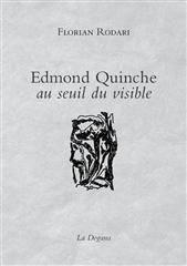 Edmond Quinche,Au Seuil Du Visible - Couverture - Format classique