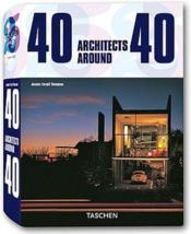40 architects around 40 - Couverture - Format classique