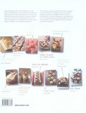 Pâtisserie séduisante - 4ème de couverture - Format classique