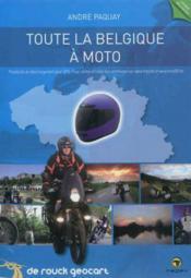 Tout la belgique a moto - Couverture - Format classique
