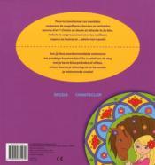 Crea color mandala chevaux (avec des dessins détachables) - 4ème de couverture - Format classique