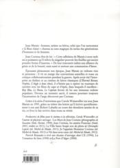 Jean Marais, le bien-aimé - 4ème de couverture - Format classique