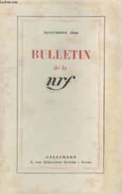 Bulletin Novembre 1949 N°29. - Couverture - Format classique