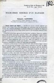 Diagrammes Sonores D'Un Diapason - Couverture - Format classique