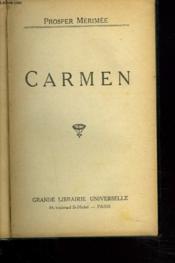 Carmen - Couverture - Format classique