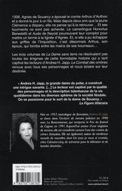 La dame sans terre t.4 ; le combat des ombres - 4ème de couverture - Format classique