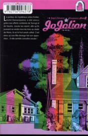 Jojo's bizarre adventure - saison 8 ; Jojolion T.11 - 4ème de couverture - Format classique
