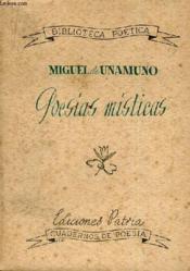 Poesias Misticas - Couverture - Format classique