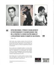 Bruce Lee ; biographie illustrée - 4ème de couverture - Format classique