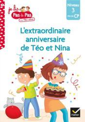 L'extraordinaire anniversaire de Téo et Nina - Couverture - Format classique