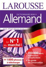 Dictionnaire mini plus allemand - Couverture - Format classique