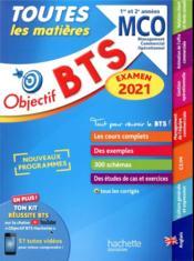 Objectif BTS ; toutes les matières ; BTS MCO, 1re et 2e années (édition 2021) - Couverture - Format classique