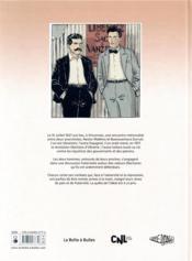 Viva l'anarchie ! T.2 ; la rencontre de Makhno et Durutti t.2 - 4ème de couverture - Format classique