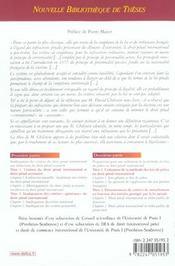 Droit pénal international et lois de police ; essai sur l'application dans l'espace du droit pénal accessoire - 4ème de couverture - Format classique