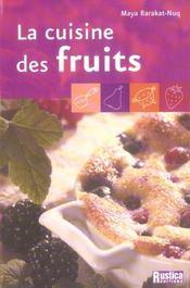 La cuisine des fruits - Intérieur - Format classique