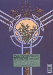 Arthur t.4 ; Kulhwch le prétendant - 4ème de couverture - Format classique