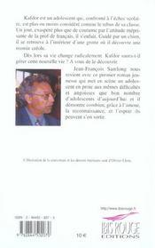 Kafdor - 4ème de couverture - Format classique