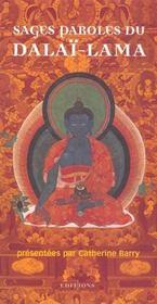 Sages paroles du Dalaï-Lama - Intérieur - Format classique