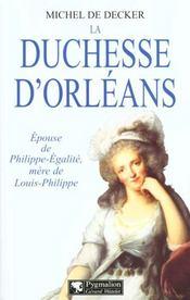 La Duchesse D'Orleans - Intérieur - Format classique