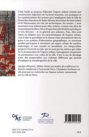 La fabrique de la ville ; espaces et sociétés à tours, ix-xiii siècles - 4ème de couverture - Format classique