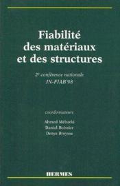 Fiabilite des materiaux et des structures - Couverture - Format classique