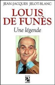 Louis de funes une legende - Couverture - Format classique