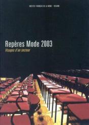 Reperes Mode 2003 - Couverture - Format classique