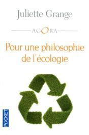 Petite philosophie de l'écologie - Couverture - Format classique
