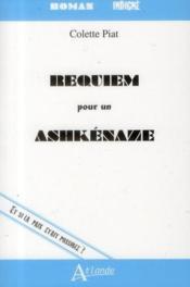 Requiem pour un Ashkénaze - Couverture - Format classique