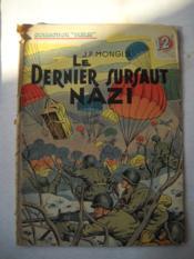Le Sernier Sursaut Nazi - Couverture - Format classique