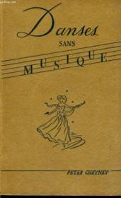 Danses Sans Musique - Couverture - Format classique