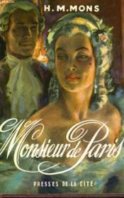 Monsieur De Paris - Couverture - Format classique