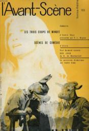 L'AVANT-SCENE - FEMINA-THEATRE N° 188 - LES TROIS COUPS DE MINUIT d'ANDRE OBEY présentée par P.-L. MIGNON - Couverture - Format classique