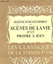 Scenes De La Vie D'Un Propre-A-Rien - Couverture - Format classique