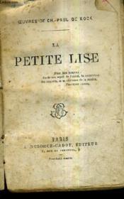 La Petite Lise. - Couverture - Format classique