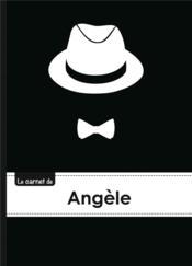 Le Carnet D'Angele - Lignes, 96p, A5 - Chapeau Et N Ud Papillon - Couverture - Format classique