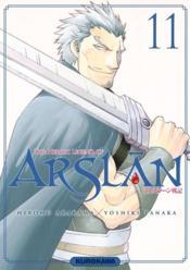 Les chroniques d'Arslan T.11 - Couverture - Format classique